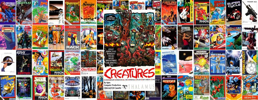 Creatures para Commodore 64 mini