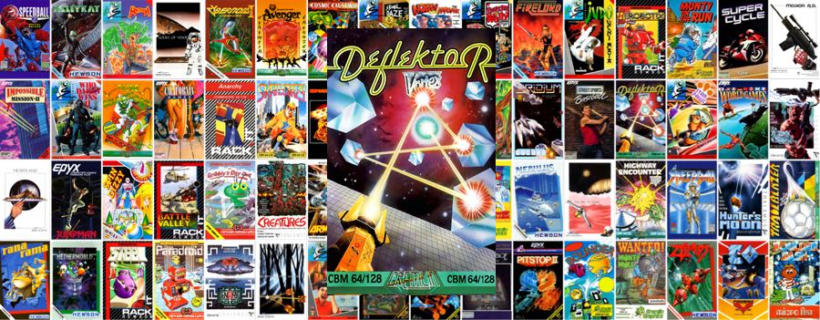 Juegos Incluidos En Commodore 64 Mini Deflektor