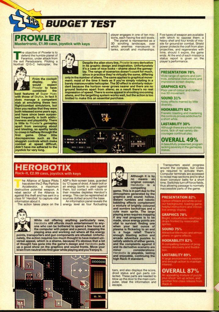 Herobotix en Zzap