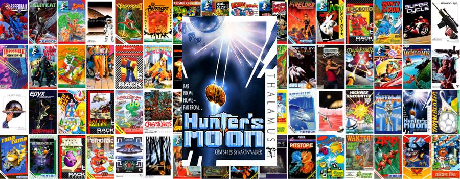 Hunter moon C64 Portada
