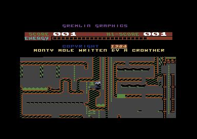 Monty Mole C64