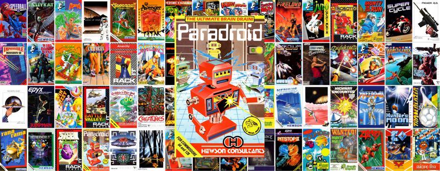Paradroid C64 Mini