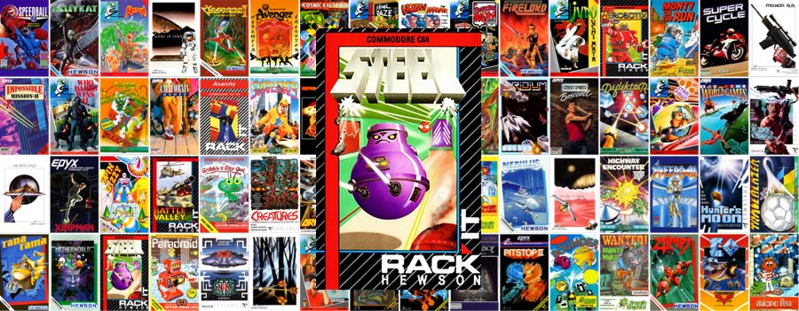 Steel de Rack It para C64 Mini