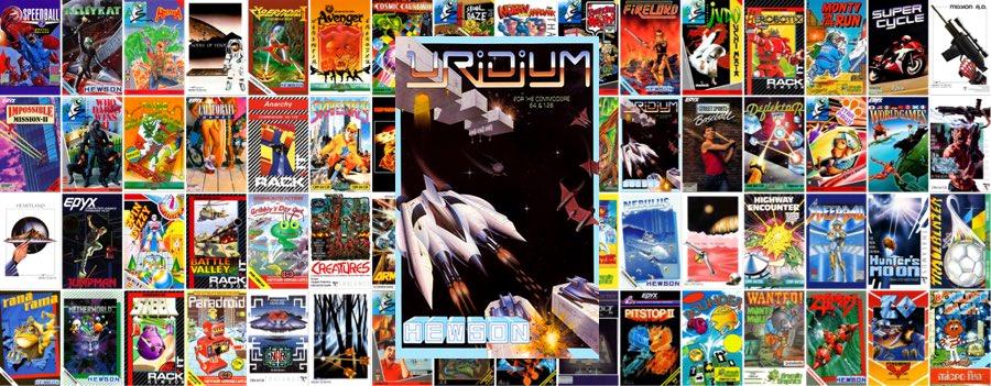 Uridium para Commodore 64 en el C64 Mini Portada