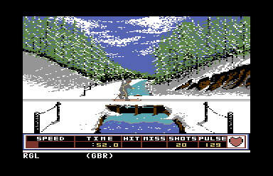 Winter Games c64