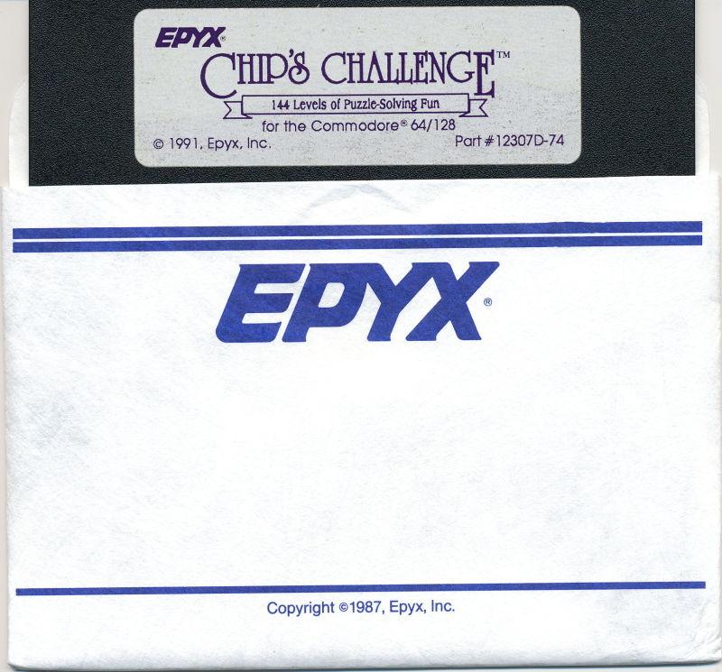 Chip's Challenge para C64