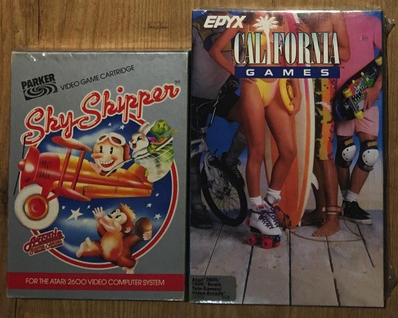 Caja de California Games para Atari 2600