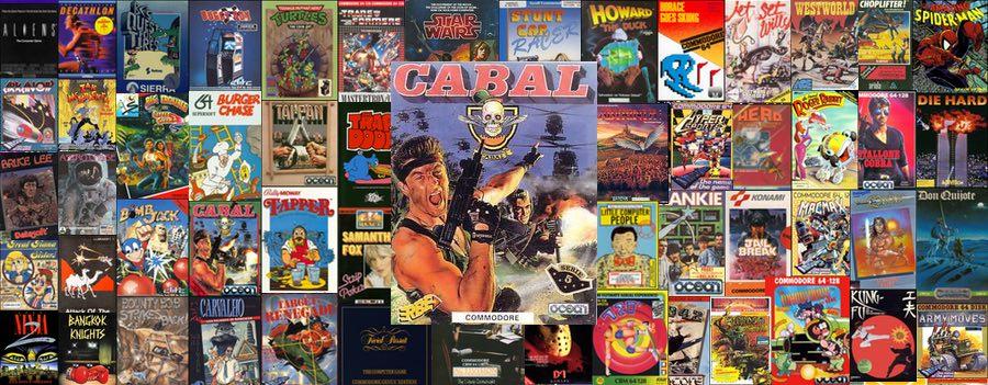 Carátula Erbe Cabal C64