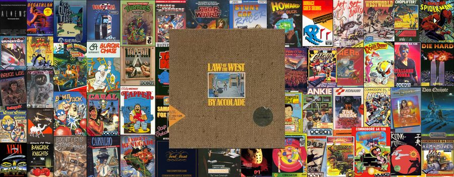 La ley del oeste para Commodore 64