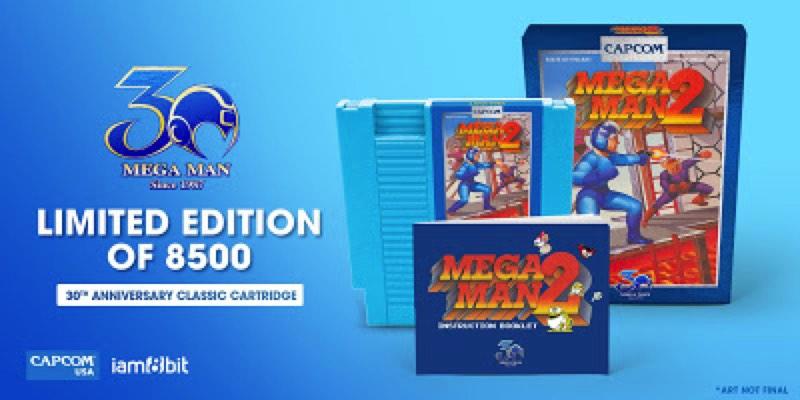 reedición de megaman 2 para Nintendo NES en 2018