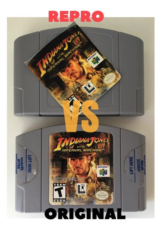 Juego repro Nintendo 64