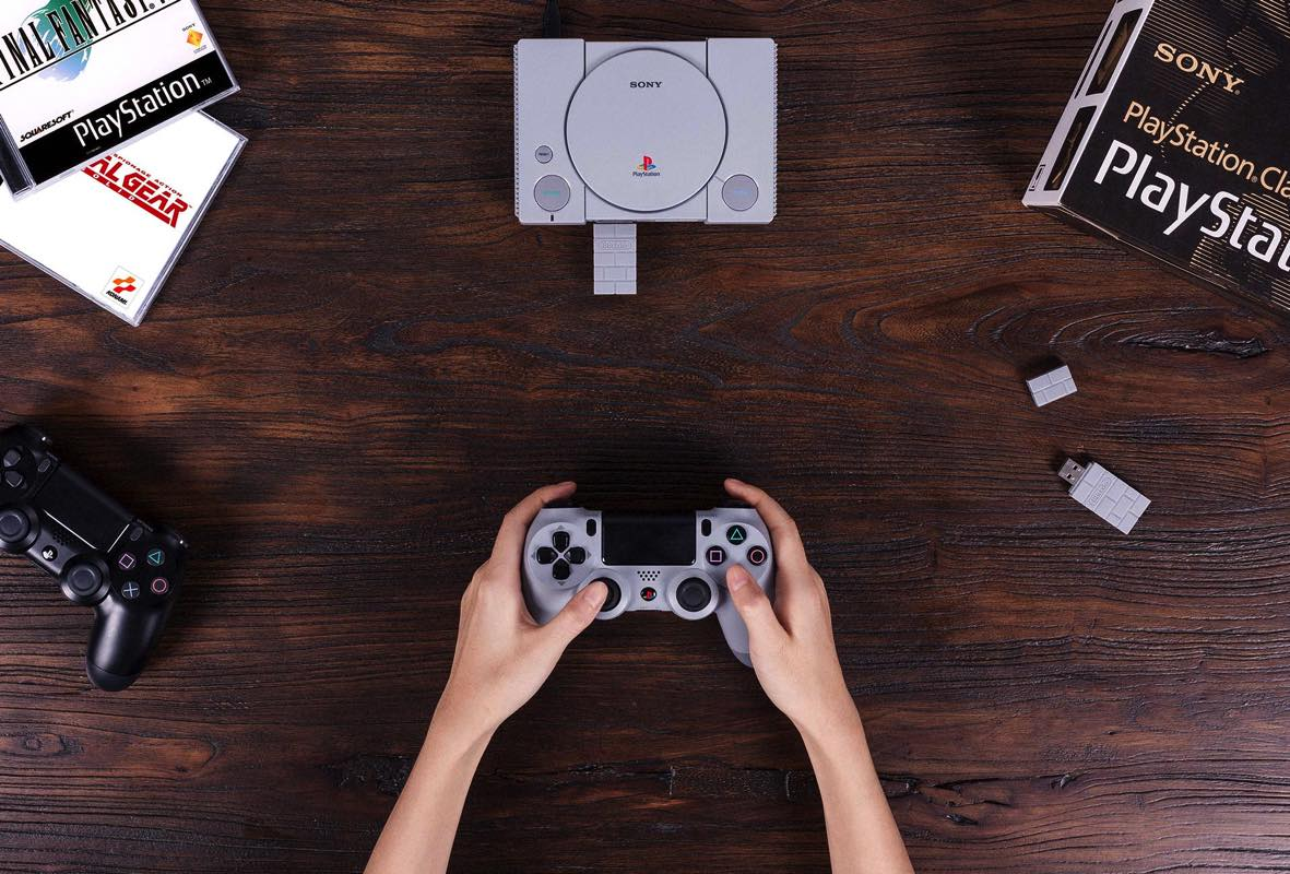 Usar mandos Ps3 y PS4 con Playstation Classic Mini