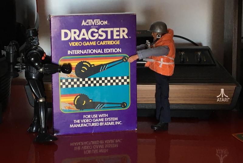 Dragster para Atari 2600