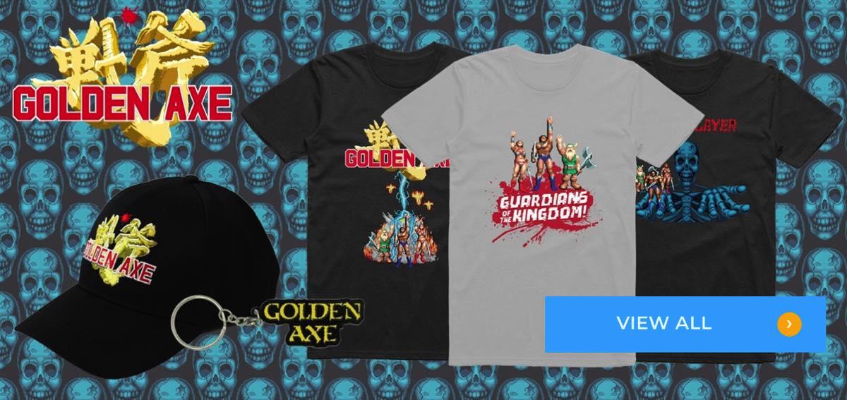 Ir a tienda Sega Shop online a comprar cosas de Golden Axe