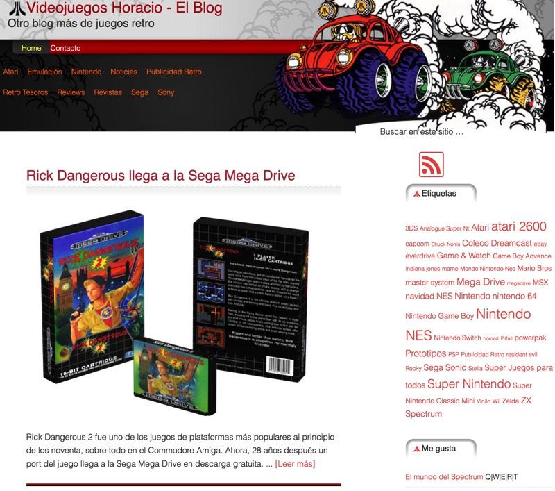 Video Juegos Horacio - Juegos Retro para consola y ordenador