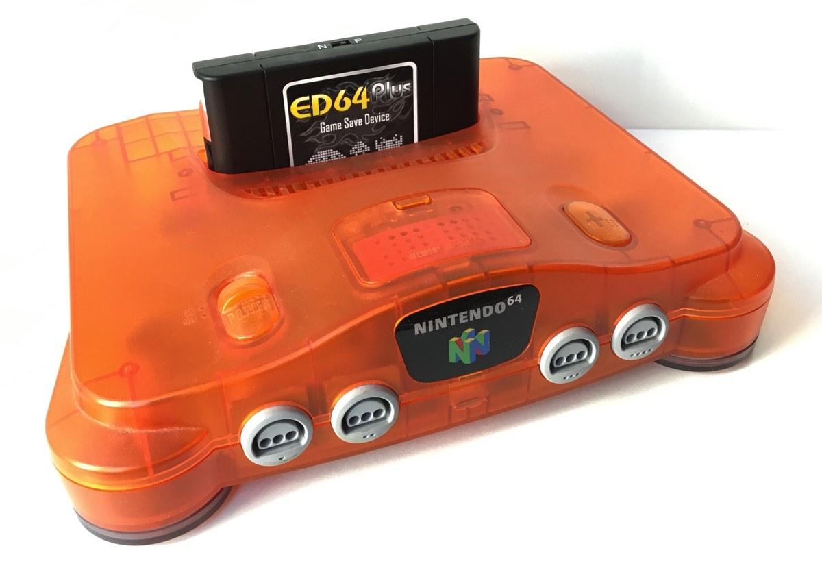 Probando el ED64 el everdrive barato de Nintendo 64