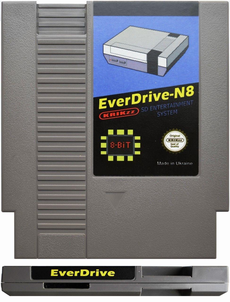 Actualización del firmware del Everdrive N8