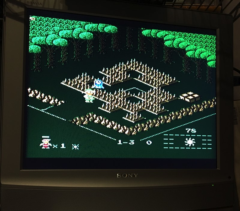 Knight Lore para Famicom