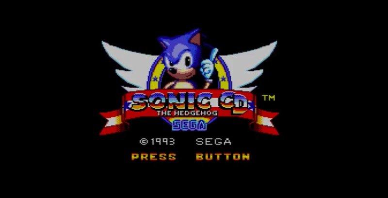 Fan version Sonic CD Master System