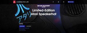 Atari lanza unas gorras con altavoces Bluetooth con edición Blade Runner 2049 incluida