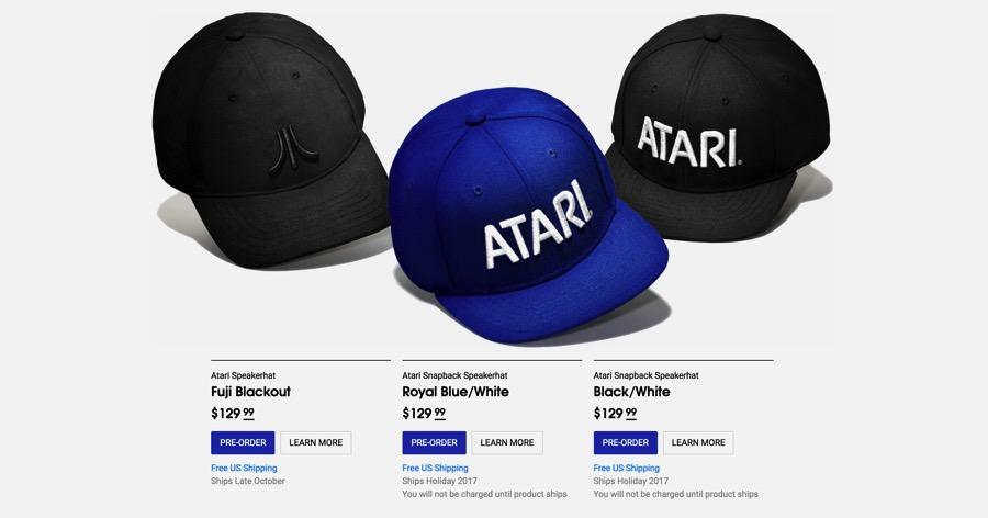 Gorra altavoz de Atari