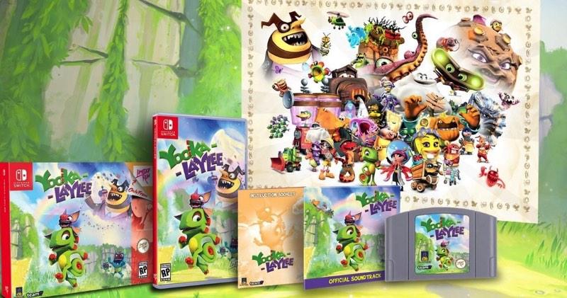 edición limitada de Yooka-Laylee para Nintendo Switch