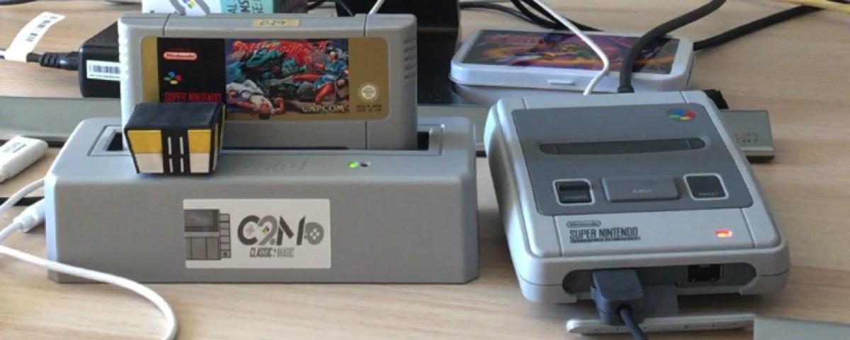 Probando Street Fighter 2 en el Classic to Mini