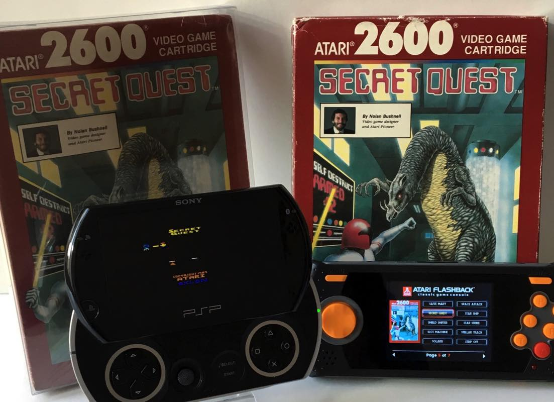 Secret Quest para Atari 2600