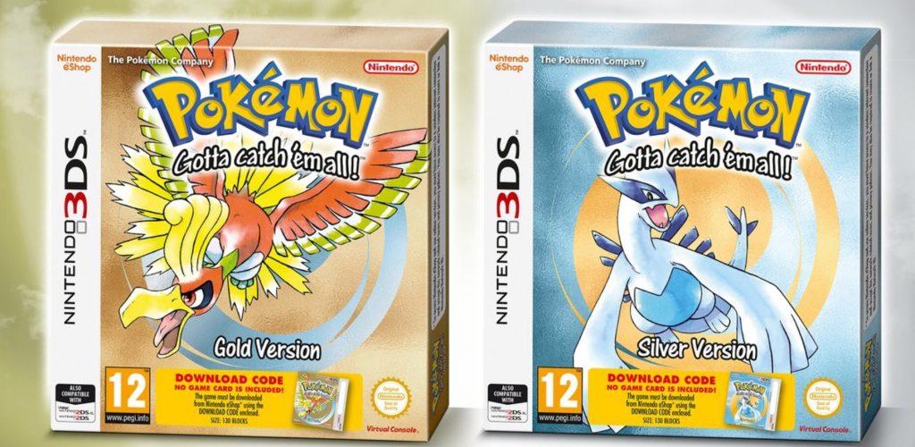 Pokemon oro y plata tendrán caja física en su edición para Nintendo 3DS