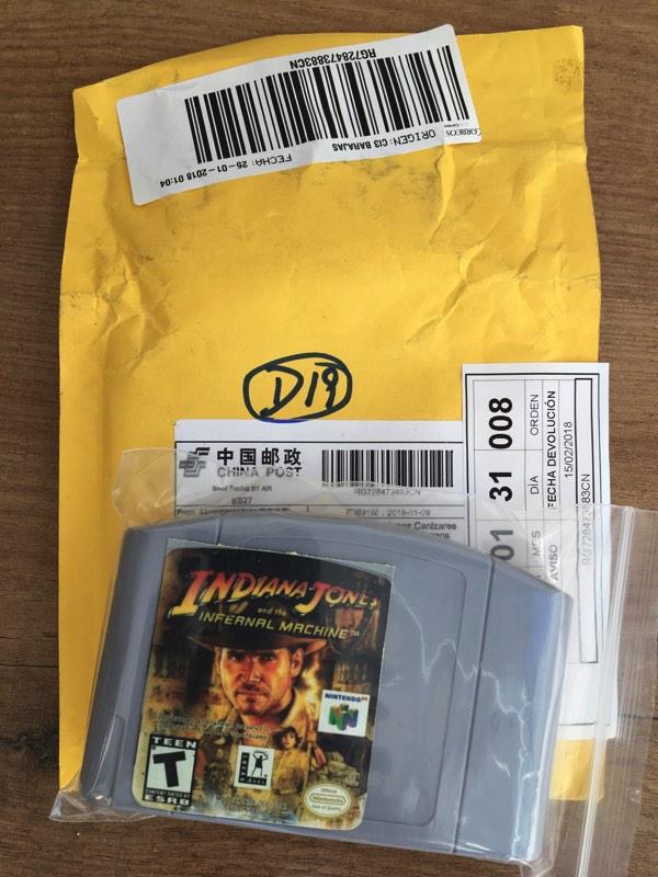 Sorteo juego trucho de Nintendo 64