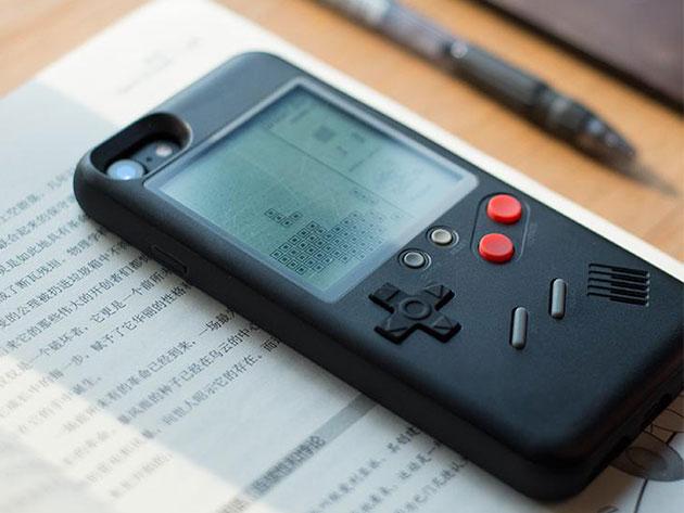 Funda Iphone con juego de Tetris