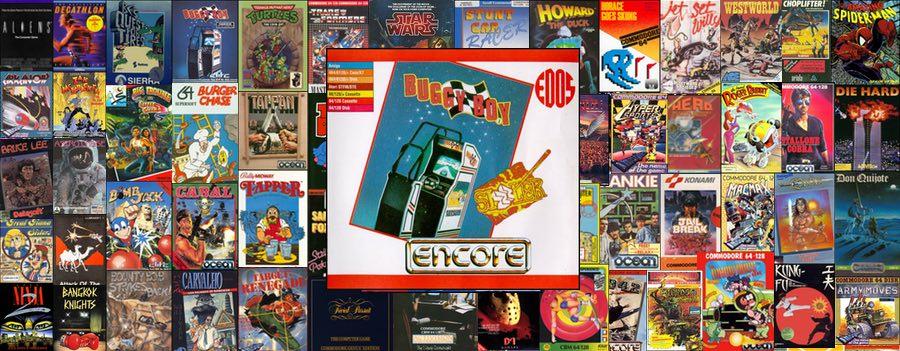 Portada juego Buggy Boy para Commodore 64 de Elite Systems