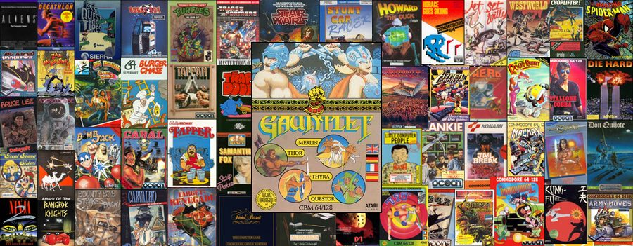 Gauntlet para Commodore 64