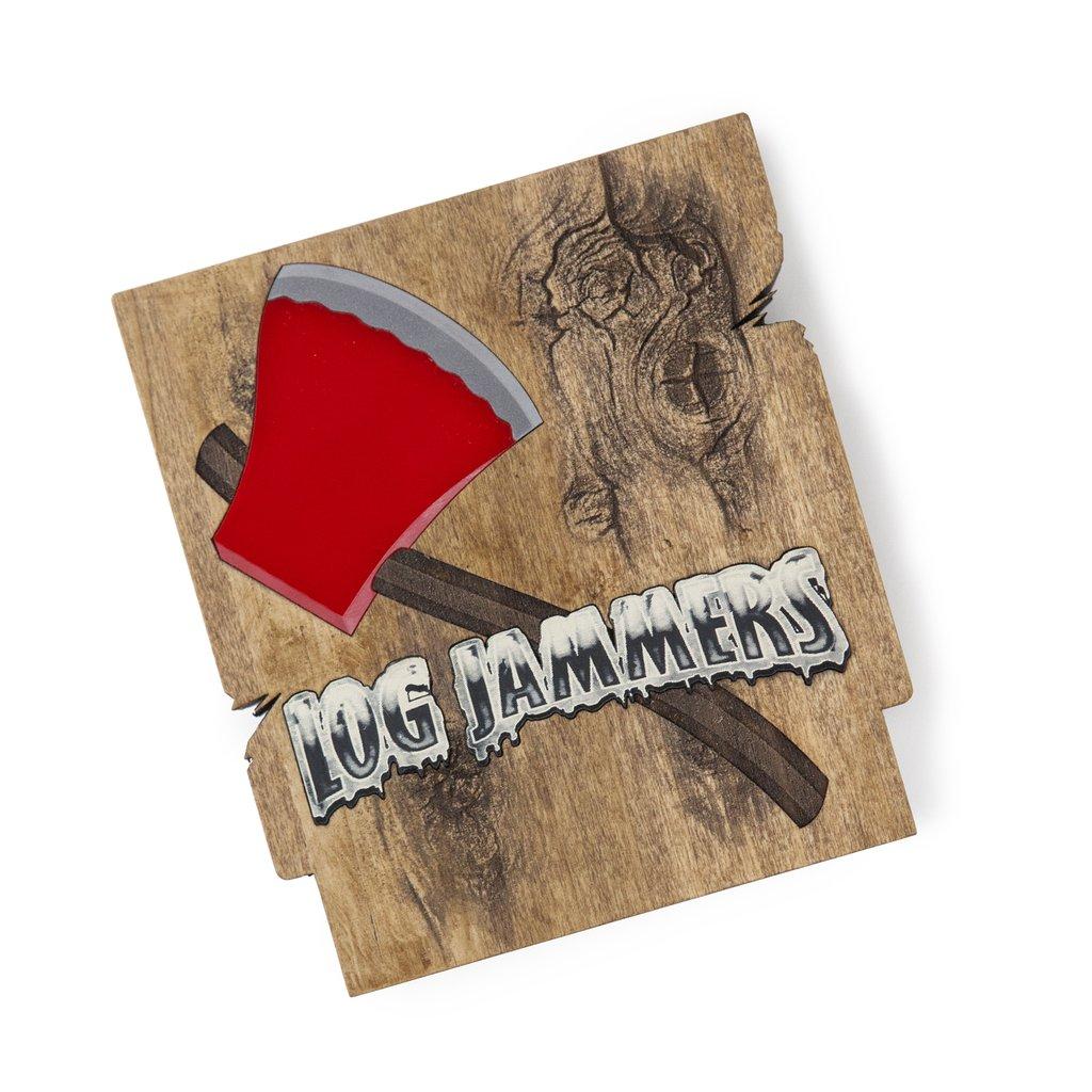 CArtucho del juego Log Jammers para Nintendo NES