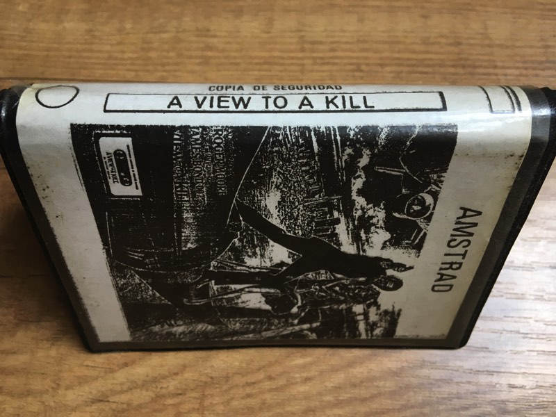 A view to a Kill pirata para Amstrad