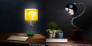 Mamma Mia, lámparas de escritorio de Super Mario Bros