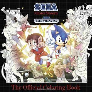 Libro para colorear oficial de Sega