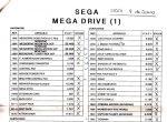 Lista de precios Sega Junio 92