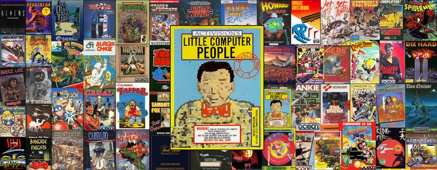 Carátula Little Computer People C64