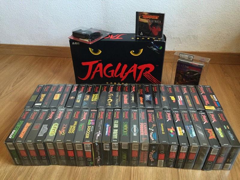 Lote completo Atari Jaguar