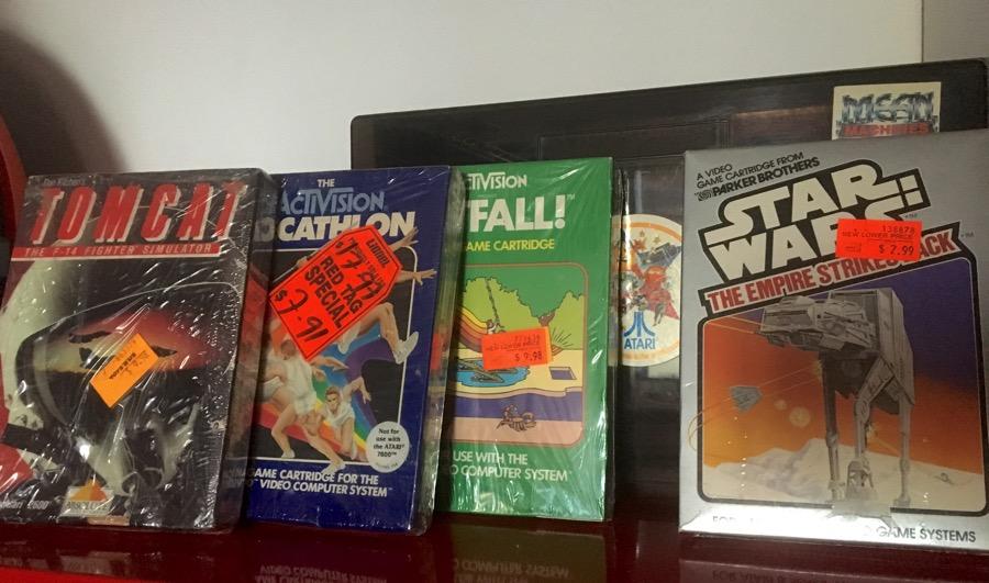 Mis juegos de Atari de mi primer viaje a NY