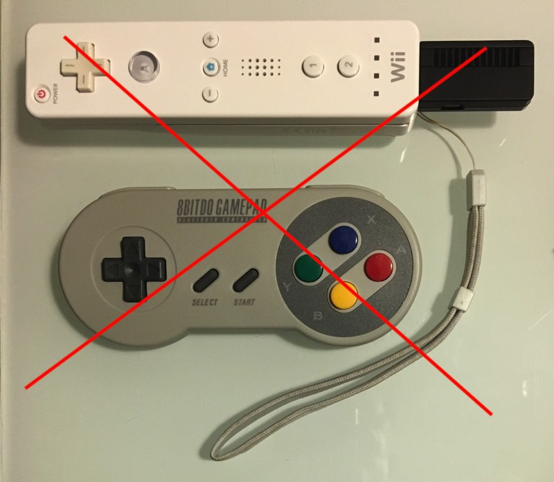 No funciona en la Nintendo Wii