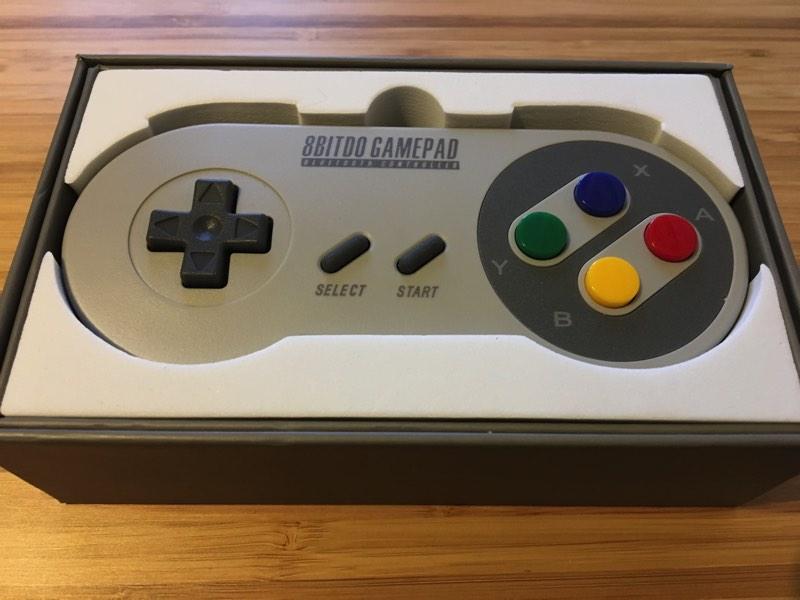 mando 8bitdo super Nintendo