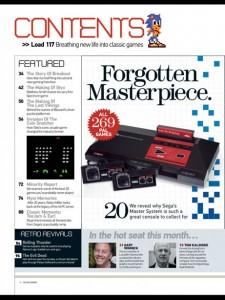 RetroGamer numero 117: Sega Master System y arqueología en casa