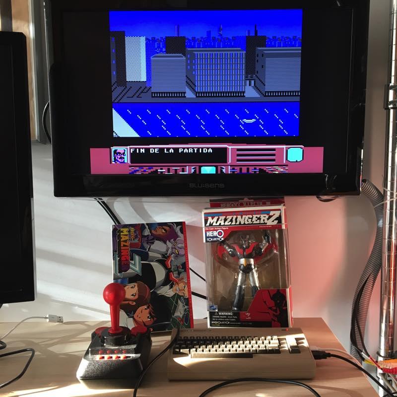 Mazinger se juega mejor en el C64 Mini