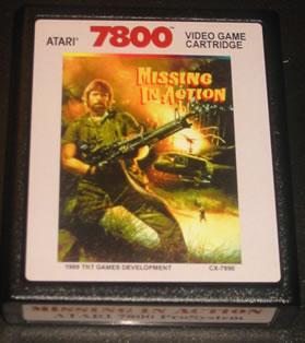 Chuck Norris en la Atari 7800