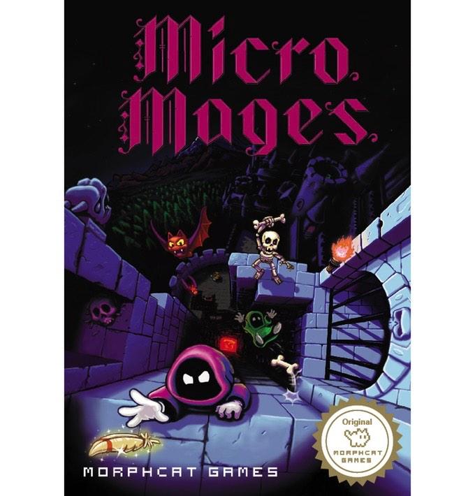 Caja del juego Micro Mages