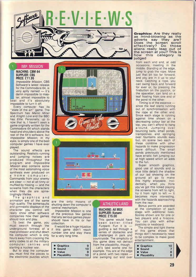 REview de Misión Imposible C64