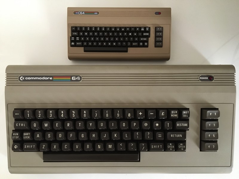 C64 Mini Vs Original
