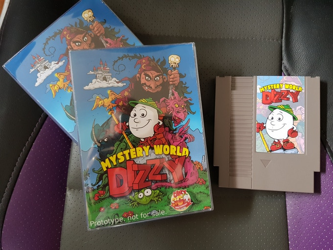 Mystery World Dizzy para NES